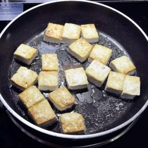 Easy Fried Tofu Recipe Step5