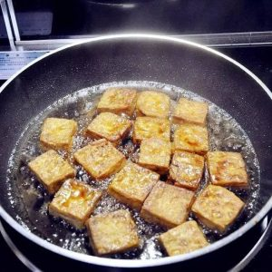 Easy Fried Tofu Recipe Step7