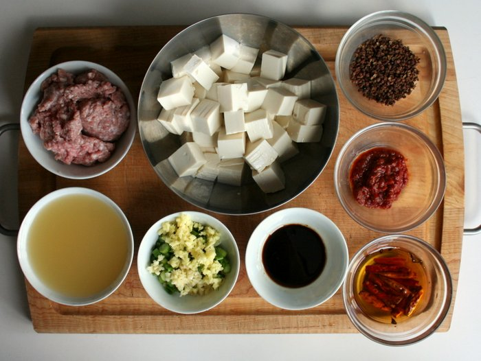 MAPO TOFU RECIPE INGREDIENTS
