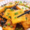 Home Made Pan Fried Tofu