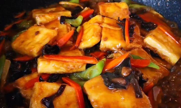 Home Made Pan Fried Tofu Step 10