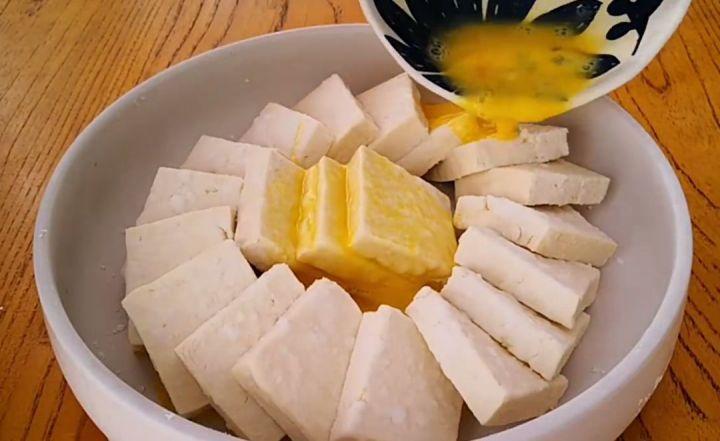 Home Made Pan Fried Tofu Step 5