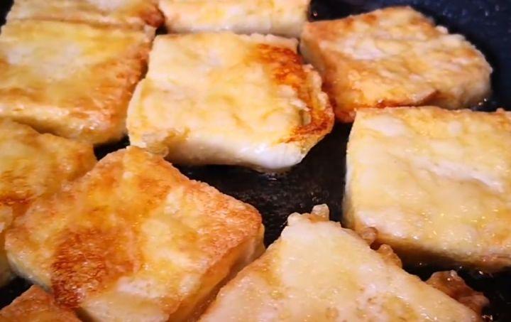 Home Made Pan Fried Tofu Step 6