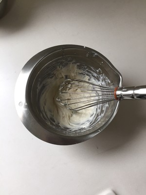 Matcha tofu mousse step 4