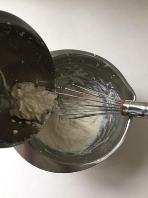 Matcha tofu mousse step 5
