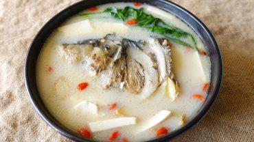 Fish Head Tofu Soup