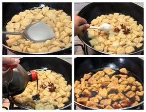 Marinated Tofu Step 2