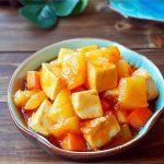 Pineapple fried tofu