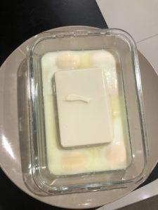 Steamed Tofu Step 2