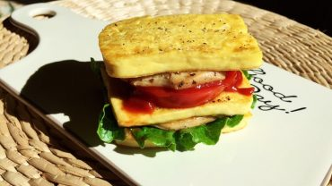Tofu Chicken Sandwich