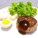 Tofu Ground Beef Burger