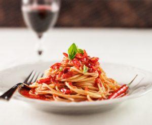 Tofu Spaghetti