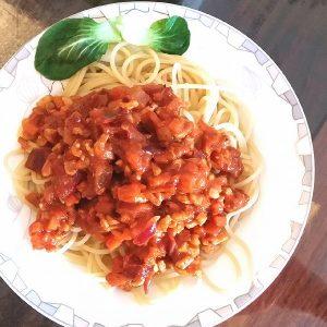 Tofu Spaghetti Step 4