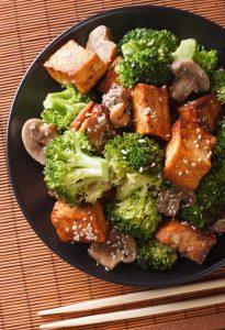 Broccoli Crispy Tofu 1