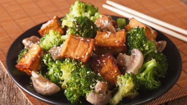 Broccoli Crispy Tofu
