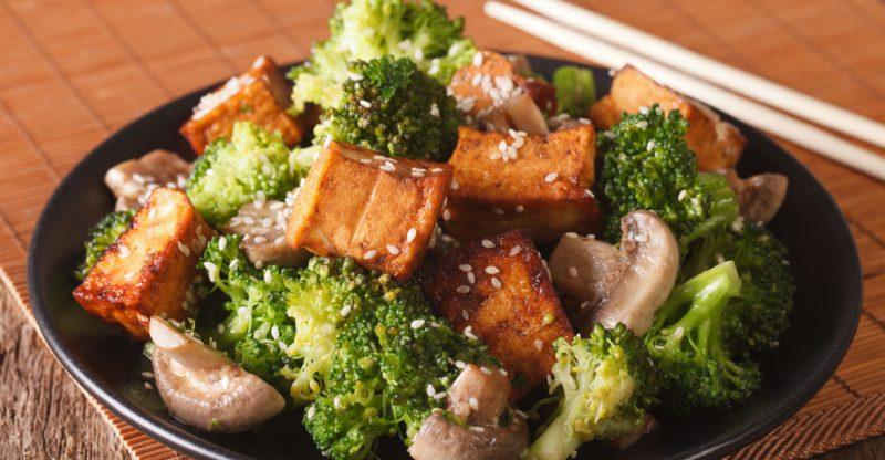 Broccoli Crispy Tofu