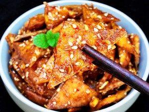Spicy Tofu Jerky