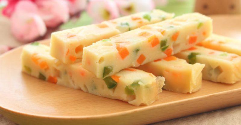 Tofu vegetable strip